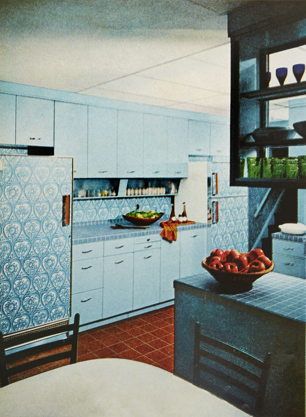 How the Kitchen Has Changed Over 100 Years - Vintage Kitchens
