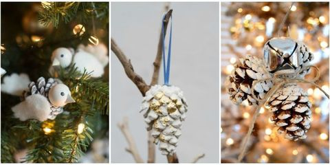pinecone ornaments