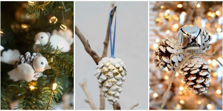 pinecone ornaments - Pine Cone Ornaments