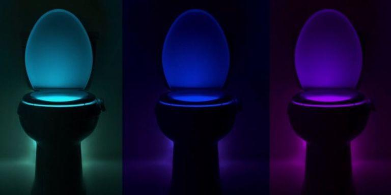 toilet bowl light & Illumibowl Toilet Light - Bathroom Night Light azcodes.com