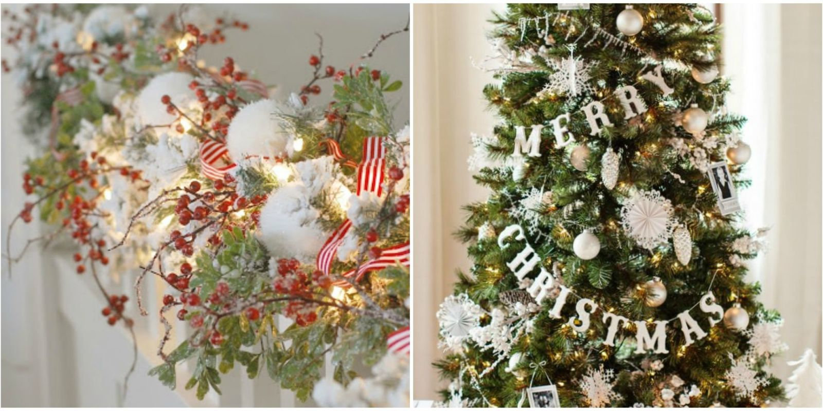 27 Christmas Garland Ideas - Decorating with Holiday Garlands