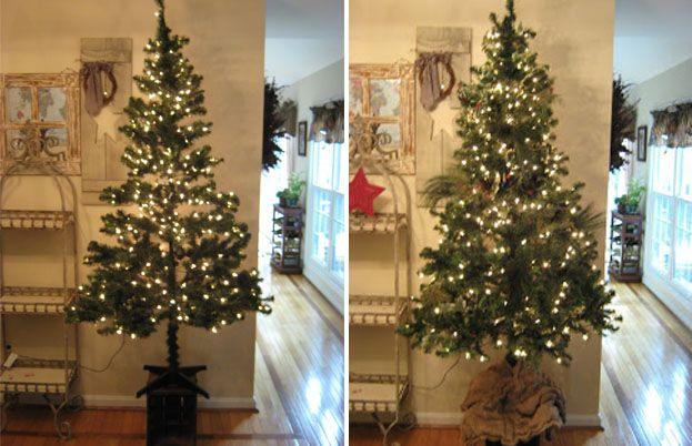 fake christmas tree tips fix your fake christmas tree - How To Store Christmas Tree