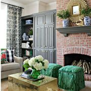Room, Interior design, Green, Floor, Property, Home, Furniture, Living room, Ceiling, Wall,