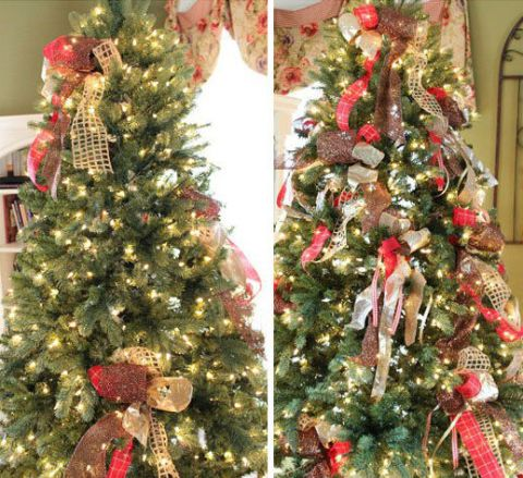 Sparse Christmas Tree Decorating.Fake Christmas Tree Tips Fix Your Fake Christmas Tree