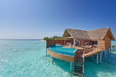 The 13 Most Beautiful Overwater Bungalows In World