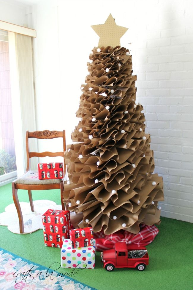 Christmas Tree Alternatives - Unique Christmas Tree Ideas