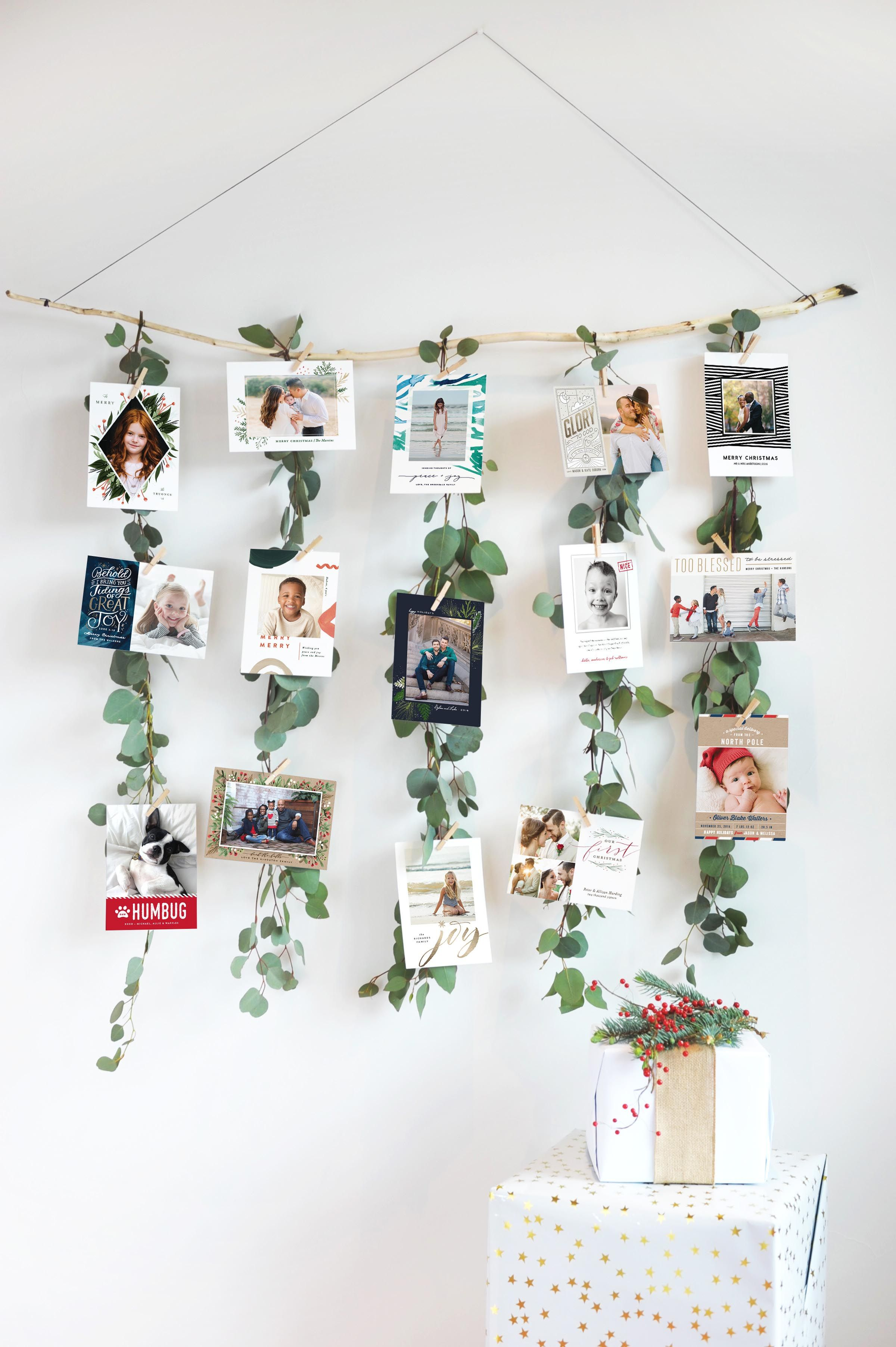 Christmas Card Display.Christmas Card Displays How To Display Your Holiday Cards