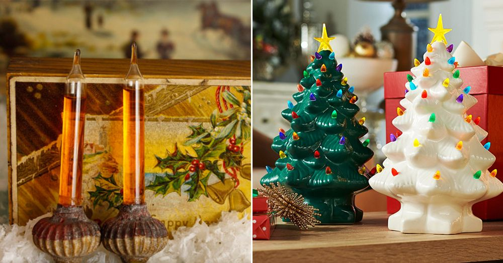 12 vintage christmas decorations classic holiday decorating ideas from the past - Christmas Tree Decorated With Vintage Ornaments