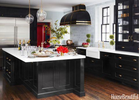 jim dove black kitchen