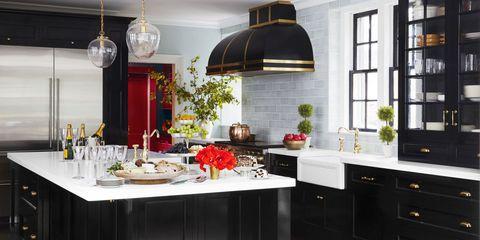 10 black kitchen cabinet ideas - Kitchen Cabinets Design Ideas Photos