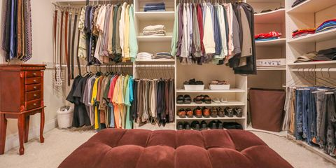 Why should we dedicate an entire area of our home to storing what we don't  really need?