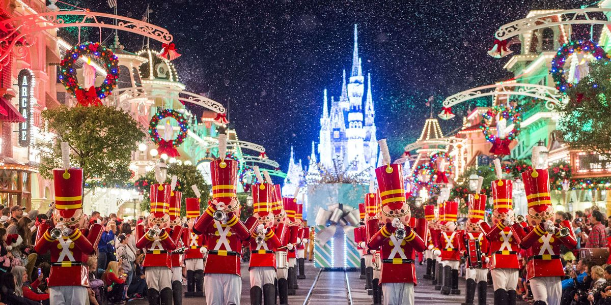 see every disney castle light up for the holidays 0 disney castles