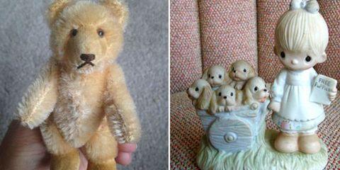 Toy, Organism, Stuffed toy, Textile, Vertebrate, Baby toys, Doll, Plush, Beige, Fawn,