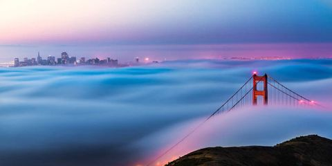 """Incredible Photos of """"Fog Waves"""" Will Change the Way You See Weather"""