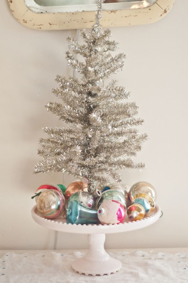 15 Small Christmas Trees Decorated Ideas For Mini Holiday Trees  - Small Christmas Tree Ideas