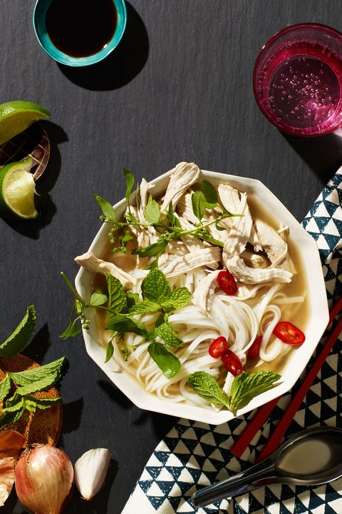 "<p>Classic. Comforting. Insanely flavorful. What more could you want?</p>  <p>Get the recipe from <a href=""http://www.delish.com/cooking/recipe-ideas/recipes/a50059/thai-chicken-noodle-soup-with-mint-green-tea-recipe/"" target=""_blank"" data-tracking-id=""recirc-text-link"">Delish</a>.</p>  <section></section>"