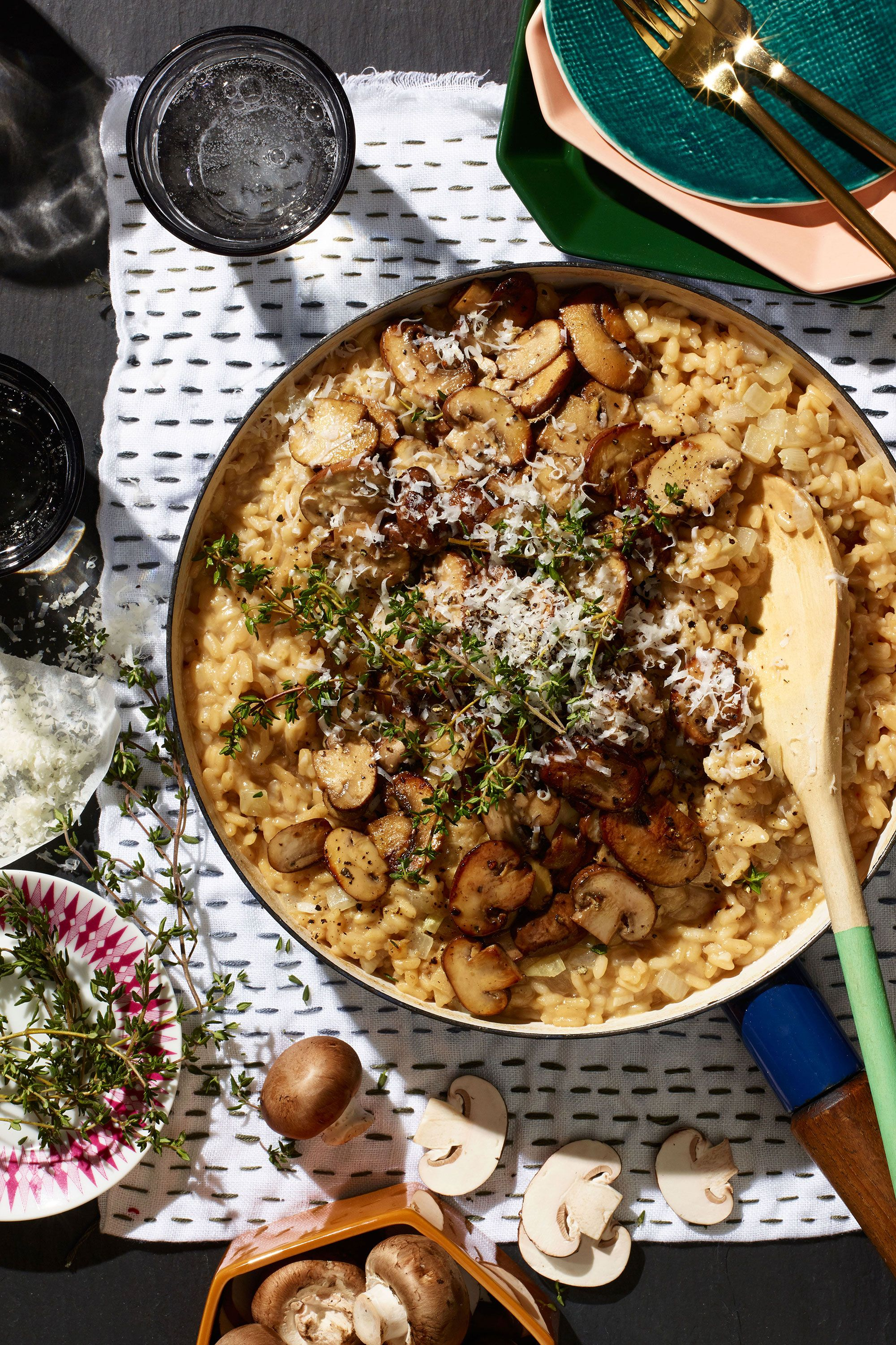 "<p>Just two things this dinner party scene-stealer needs: a patient cook and a table of hungry guests.</p>  <p>Get the recipe from <a href=""http://www.delish.com/cooking/recipe-ideas/recipes/a50043/black-tea-and-mushroom-risotto-recipe/"" target=""_blank"" data-tracking-id=""recirc-text-link"">Delish</a>.</p>  <section></section>"