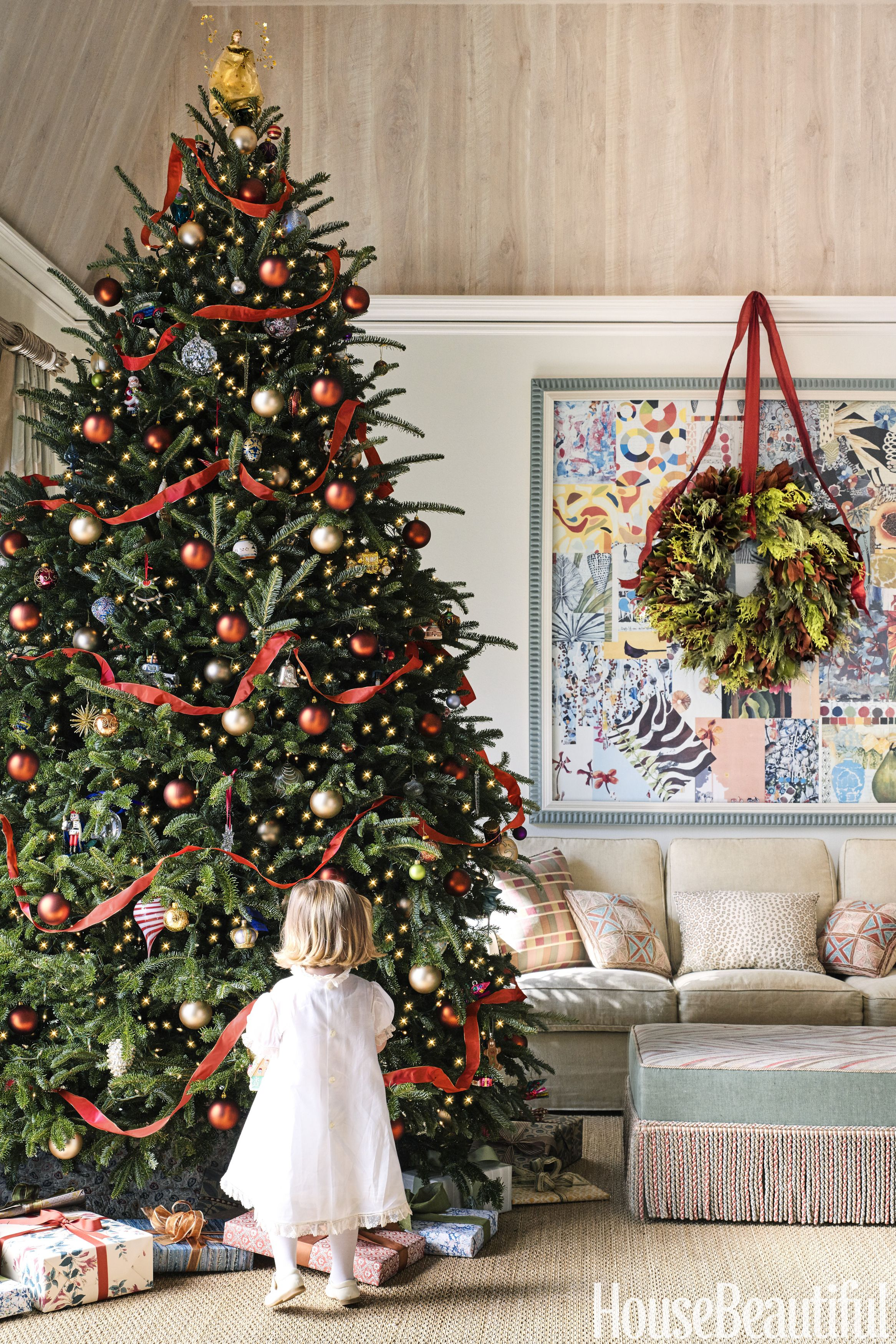 50 christmas tree decoration ideas pictures of beautiful christmas rh housebeautiful com