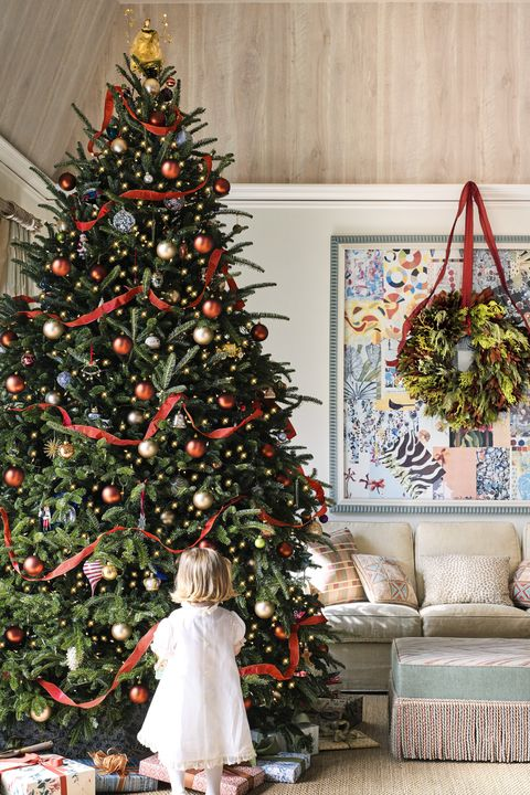 catherine olasky christmas house - 50 Christmas Tree Decoration Ideas - Pictures Of Beautiful Christmas