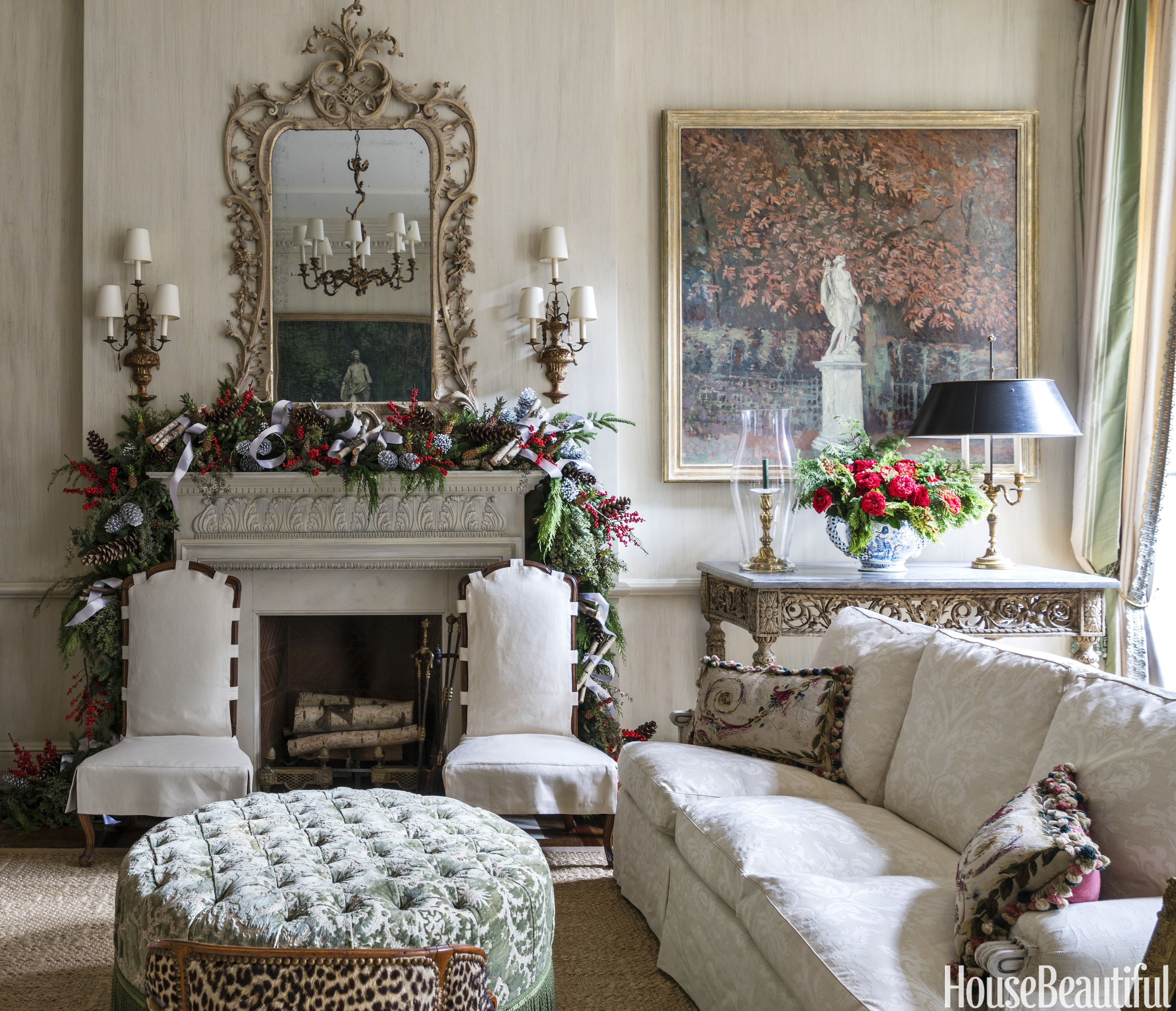 Charlotte Moss Elegant Christmas Decorations  Holiday Decorating Ideas From