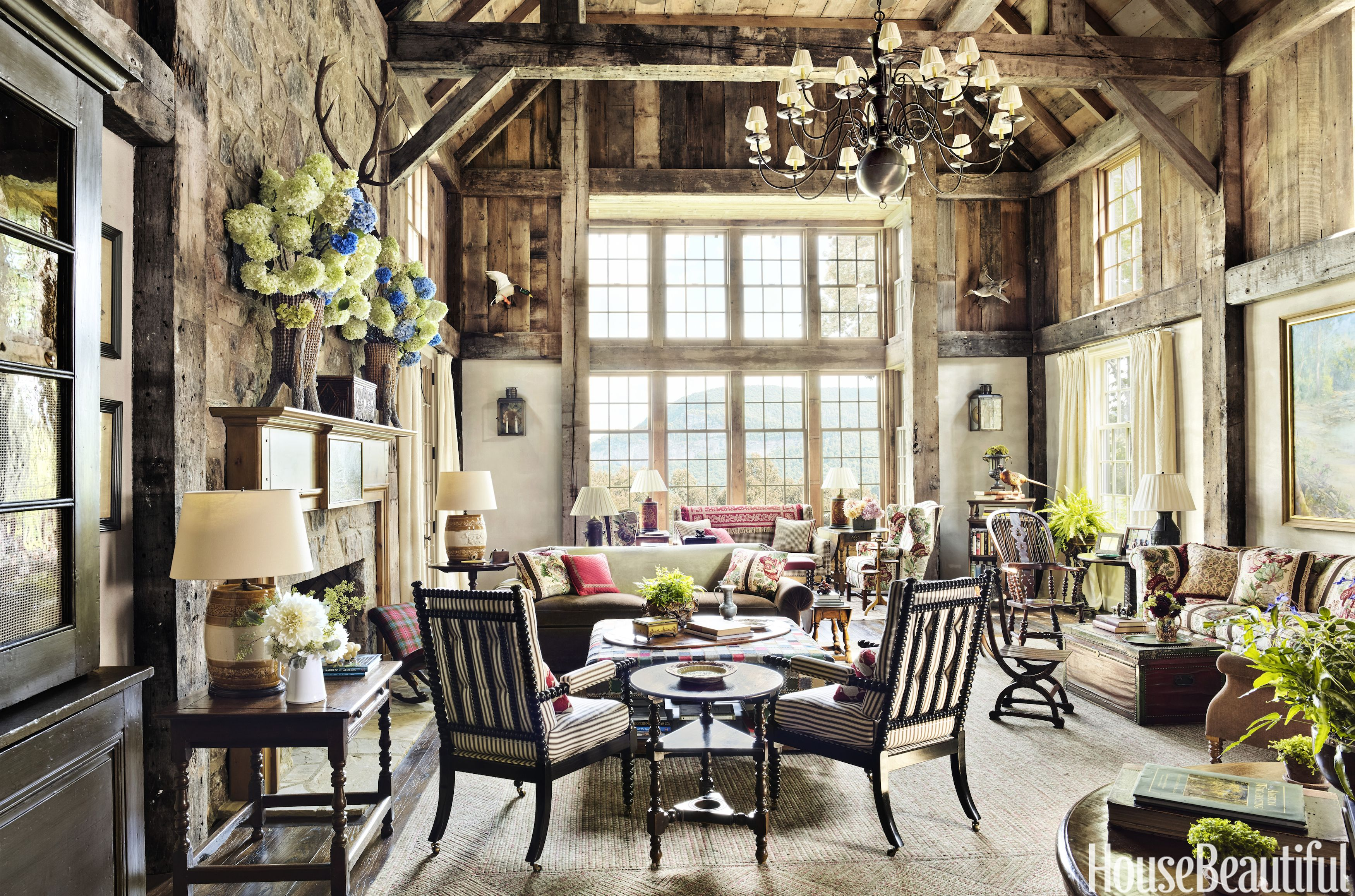 Image. Annie Schlechter. Mountain Living Room