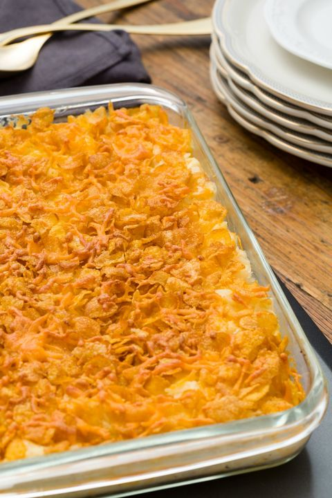 Cheesy Funeral Potatoes Vertical
