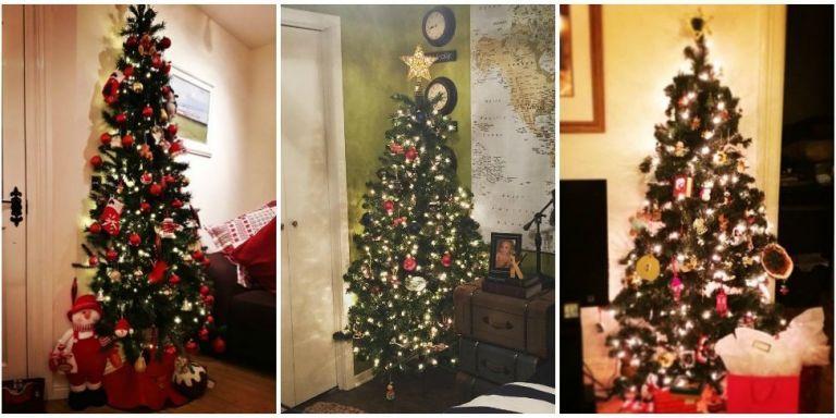 half christmas tree trend half tree trend - Half Christmas Tree