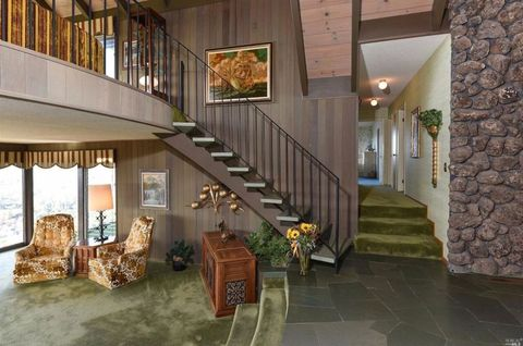 Brady Bunch House Staircase