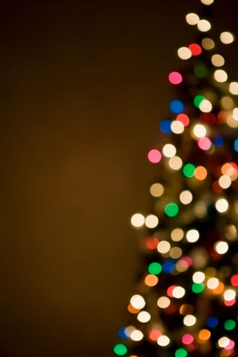 Christmas decoration, Christmas tree, Light, Carmine, Tints and shades, Colorfulness, Pattern, Evergreen, Christmas lights, Christmas,