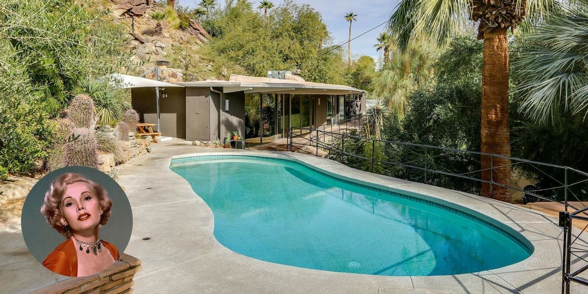 Zsa Zsa Gabor S Palm Springs House Is For Sale