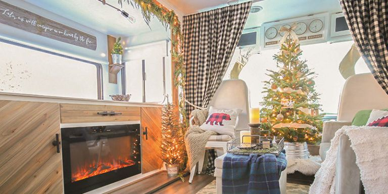 Inside The Most Festive Little Rv You Ever Did See Rv Home