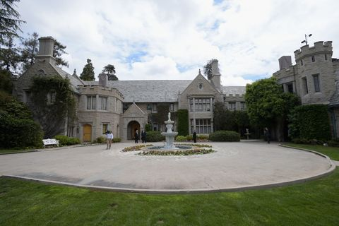Hugh Hefner Playboy Mansion