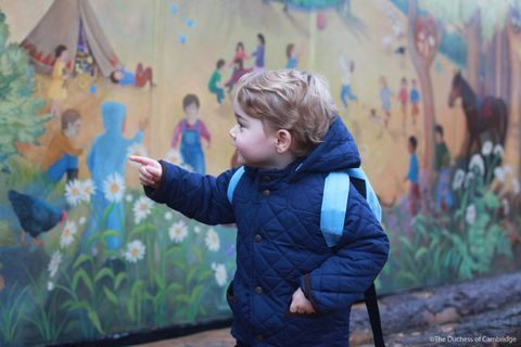 <p>The young prince before entering&nbsp;Westacre Montessori School.</p>
