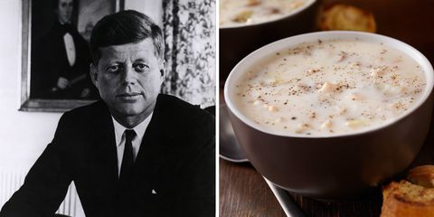 Curl Up With a Cup of JFK's Favorite Chowder This Winter