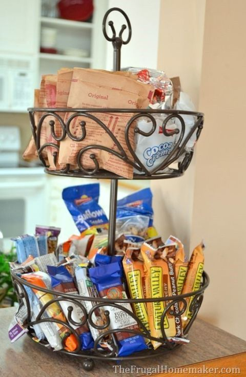 The Frugal Homemaker Stack Snacks