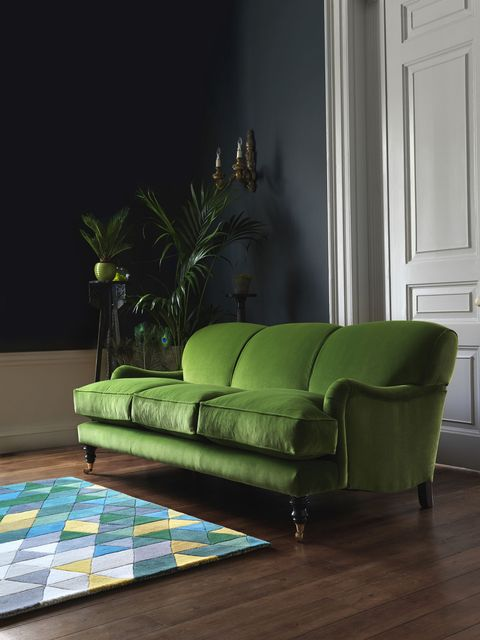 Sofa Workshop, Lady May 3 seater sofa in Dusky Grass - living-room
