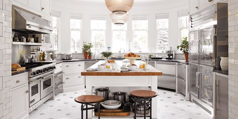 A Modern Country Kitchen in Lakeville, Connecticut