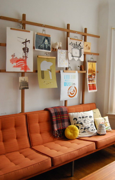 Interior design, Room, Wood, Living room, Wall, Couch, Orange, Interior design, Home, Pillow,