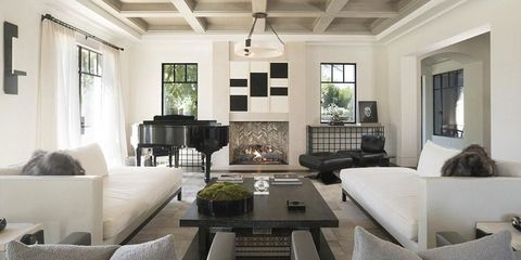 Kourtney Kardashian 39 S Living Room Kardashian Home Tour