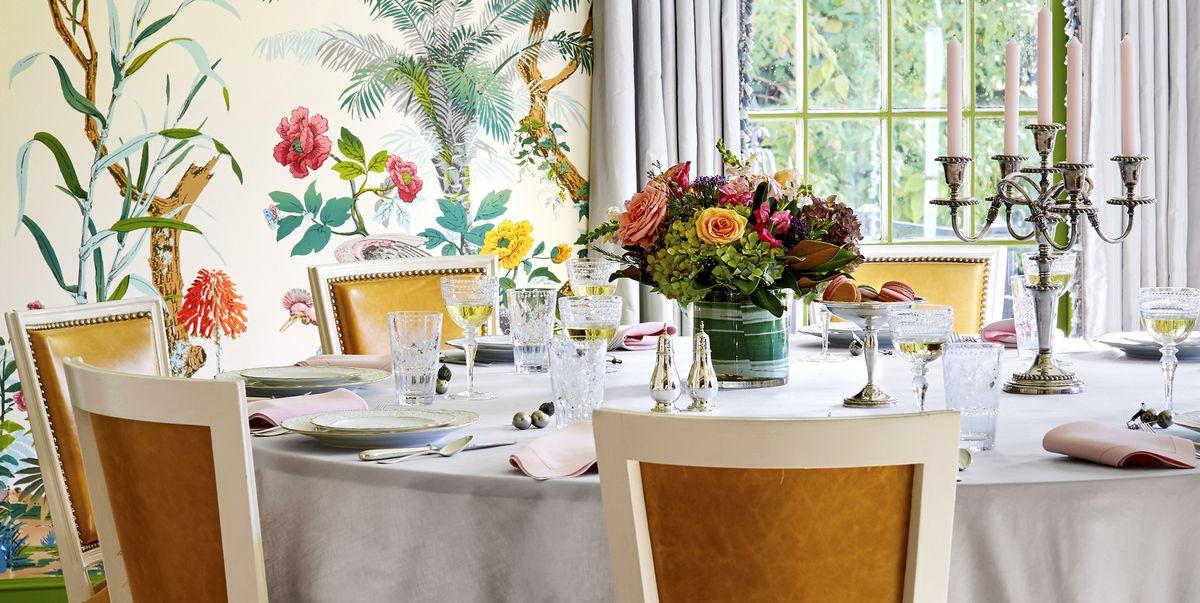 50 best dining room decorating ideas furniture designs - Living and dining room designs pictures ...