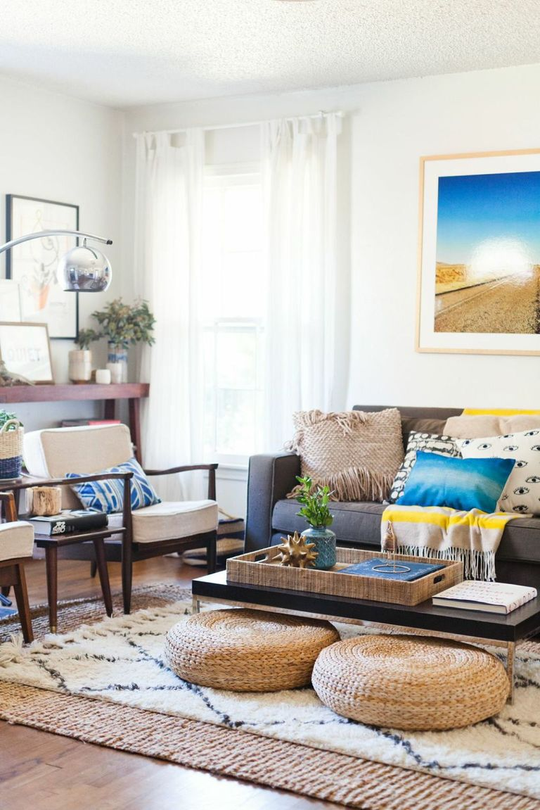 It\'s Official: The Layered Rug Trend Is Here to Stay