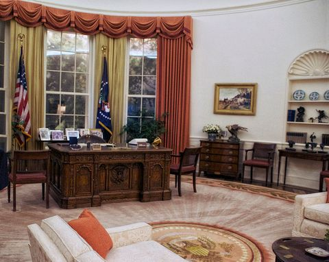 oval office decor. President Ronald Reagan\u0027s \ Oval Office Decor O