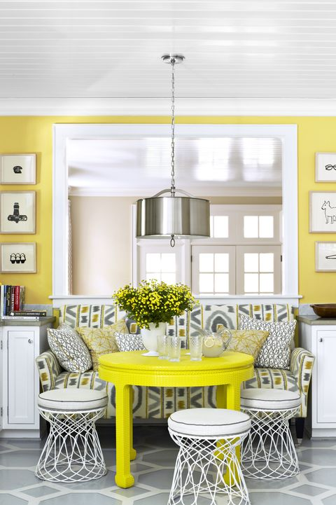 48 Best Dining Room Paint Colors Modern Color Schemes For Dining Rooms Impressive Yellow Dining Room