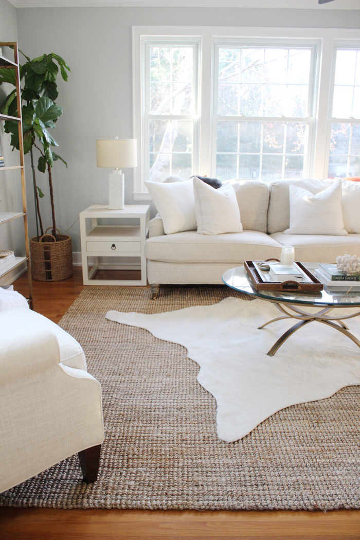 It S Official The Layered Rug Trend Is Here To Stay