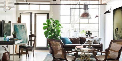 Flynn - Living Room Wide