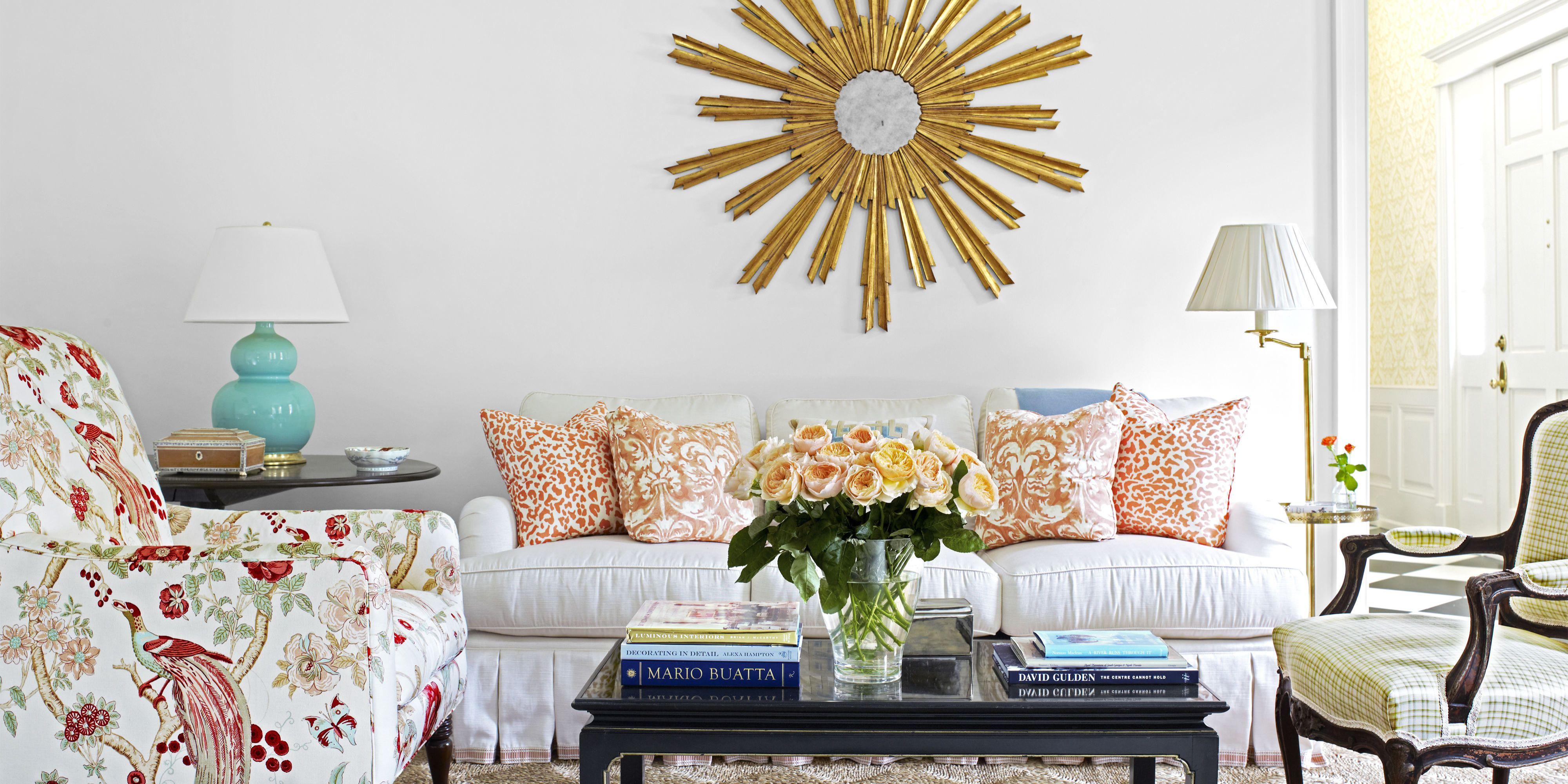 Home decor tips for living room.