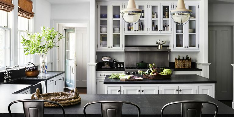 Nina Farmer Gray Kitchen 10 Grey Kitchen Ideas  Best Gray Designs And Inspiration