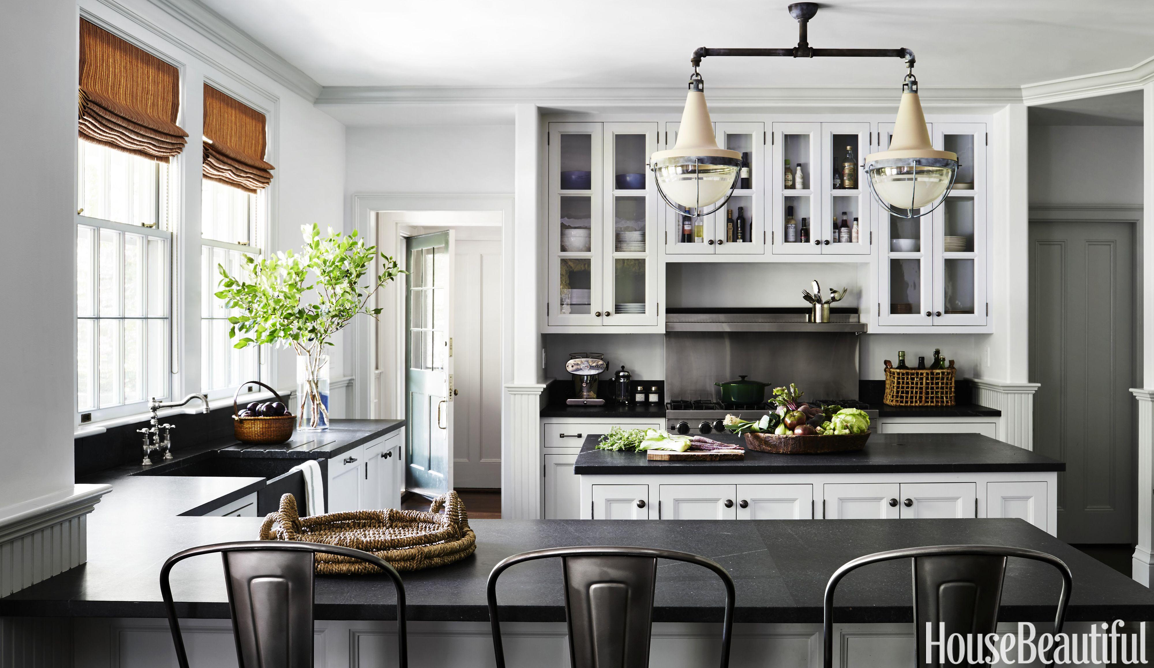 Nina Farmer Gray Kitchen