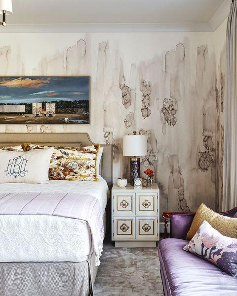 charlotte lucas purple bedroom