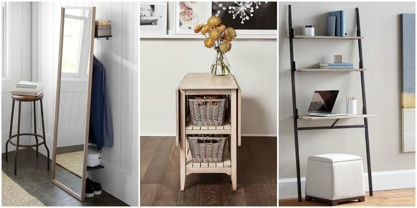 Pottery Barn Launches Small Space Collection   Furniture For Apartments And  Tiny Houses